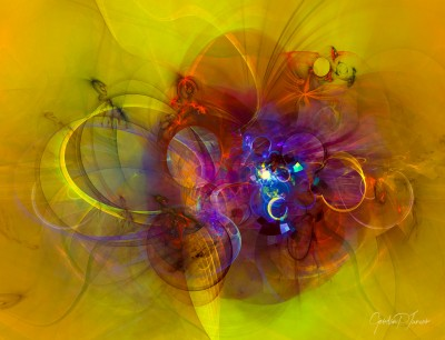 Perpetuum mobile – Digital Abstract Composition