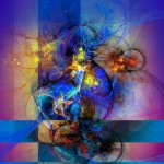 Digital Abstract Composition - It's complicated