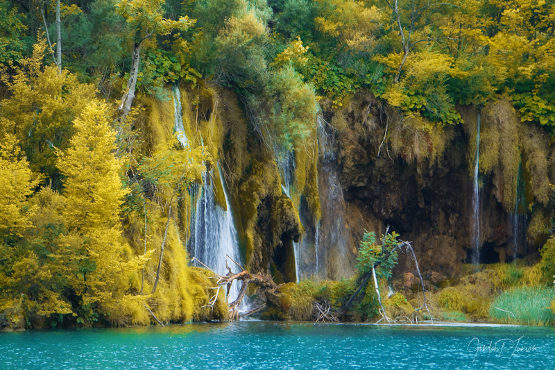 Summer's Almost Gone - Beautiful waterfalls at Plitvice Lakes National Park Art Prints