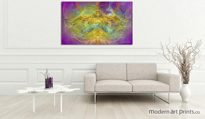Living Room Wall Art - Digital Abstract Art - Nature - Modern Art prints