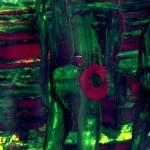 Last of the Mohicans Wall Art Prints - Abstract Colorful Mixed Media Painting for sale. Art by Gordan P. Junior