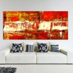 Contemporary Red Abstract Art - Buy Modern Art - Modern Art For Sale. Artwork by Gordan P. Junior