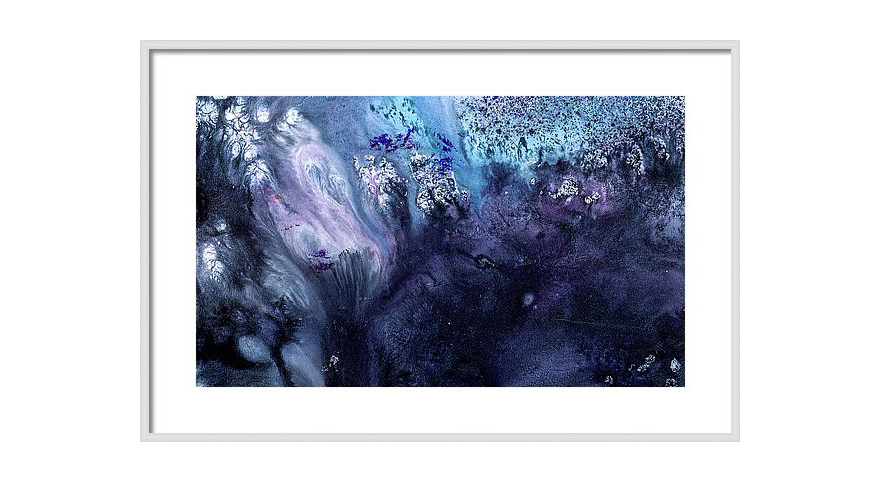 Large abstract art for sale november rain canvas and for Abstract artwork for sale