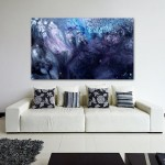 Large Abstract Art For Sale - November Rain - Modern Art Painting