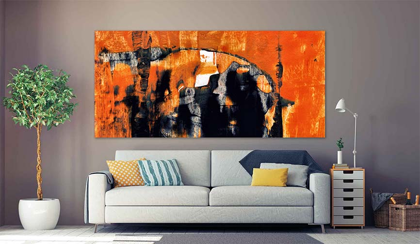 Large Contemporary Abstract Art Painting For Sale  - Buy Oversized Living Rooma And Large Bedroom Wall Modern Art Prints